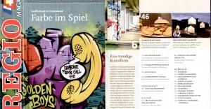 Das Regio Magazin Freiburg empfiehlt die Bridge-Gallery