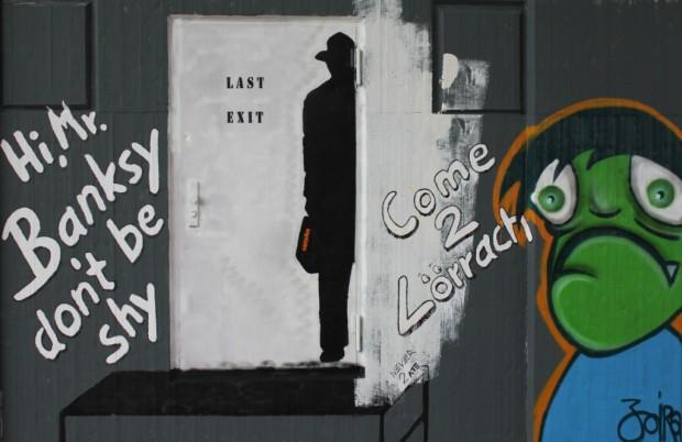 Banksy letztes Bild Quer