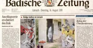 Leitartikel Badische Zeitung